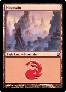 Mountain (Theros, 242)