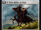 It That Rides as One