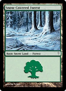 Snow-Covered Forest CSP