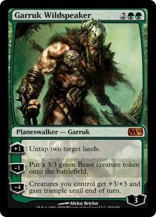 Garruk Wildspeaker M10