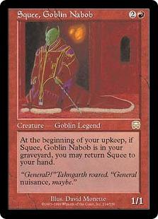 Squee, Goblin Nabob MM