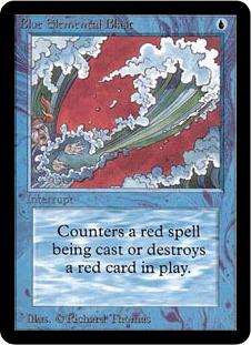 Blue Elemental Blast 1E