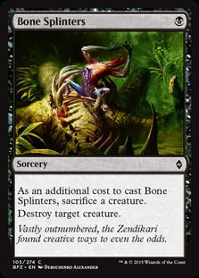 Bone Splinters BFZ