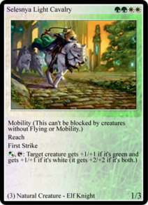 Selesnya Light Cavalry (TL)