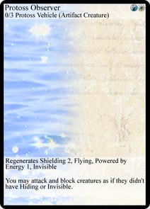 Protoss Observer (TL)