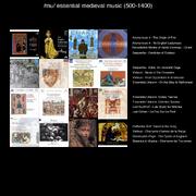 1) medieval (500-1400)