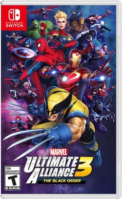 Marvel Ultimate Alliance 3 Box Art