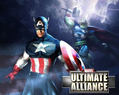 Marvel ultimate-alliance video-game captain-america thor (1)