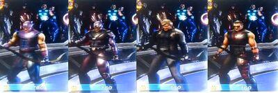 Hawkeye MUA Costumes
