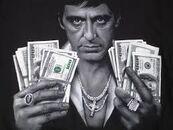 Tony with cash $