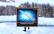 Baraka's blade