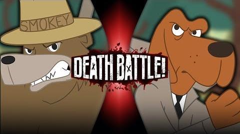 Smokey Bear VS McGruff the Crime Dog DEATH BATTLE!