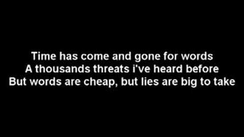 Endeverafter Jeff Hardy - No More Words (Diamond Tiara's theme)