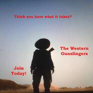 Western gunslingers