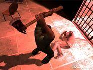 Danny butchering a doctor
