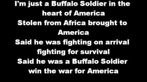 Bob Marley - Buffalo Soldier (Buffalo's theme song)