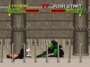 Reptile VS Bruce Lee (glitch)
