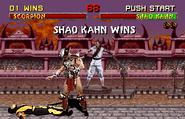 Shao Kahn wins