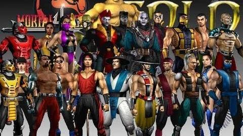 Mortal Kombat 4 - All Endings