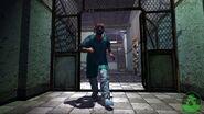 Otto runnin' 'round the asylum