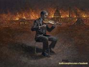Obama as Nerro