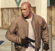 Loscano with gun