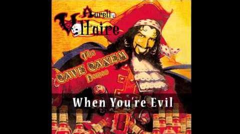 Aurelio Voltaire - When you're Evil (Cave Canem version, Clurkicus' theme)-0