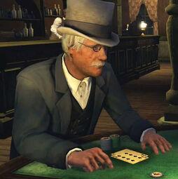 Francis at blackjack