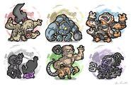 MK Sub-Bosses
