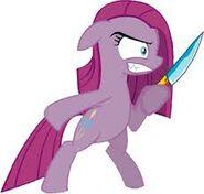 Pinkie knife