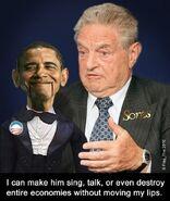 Obama Soros puppet