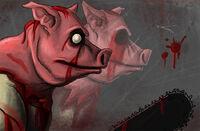 Piggsy face