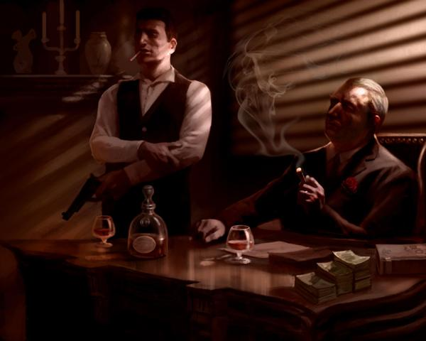Corleone family made up characters wiki fandom powered by wikia corleone family from left to right tom hagen with pistol guarding vito and don vito corleone behind the desk smokin thecheapjerseys Choice Image