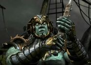 Kotal Kahn with knife