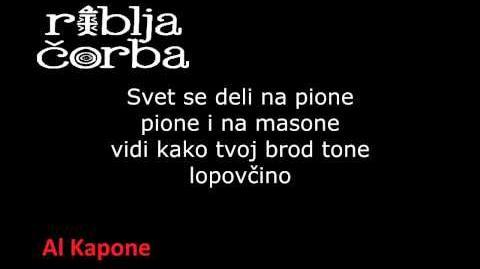 Riblja Čorba - Al Kapone (Trapani's theme)