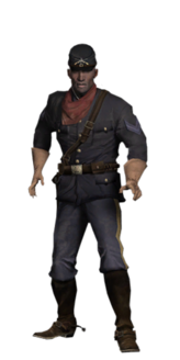 Playable skin Buffalo Soldier