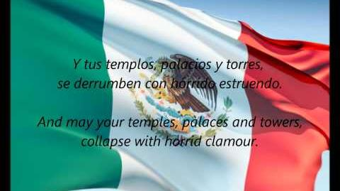 Mexican National Anthem (ES EN lyrics)