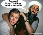 Bush tickles Osama