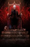 Count Orlok on throne