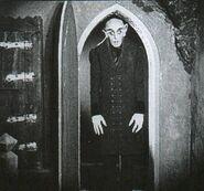 Nosferatu at the door