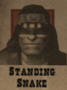 Wanted Standing Snake