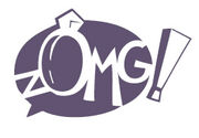 Gaia Online zOMG! logo