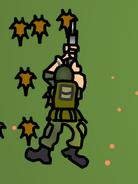 Pinned Sarge