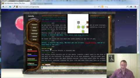 Tutorial - Creating an RPG Text Game Character on Iron Realms Games