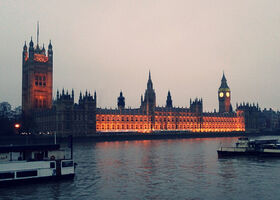 Westminster in the evening