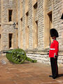 Jewel House guard in the Tower of London.JPG