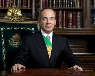 Felipe Calderon Hinojosa.