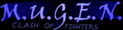 MUGEN CLASH OF FIGHTERS LOGO