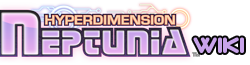 The Hyperdimension Neptunia affiliate logo