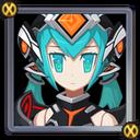Cyborg Queen small portrait